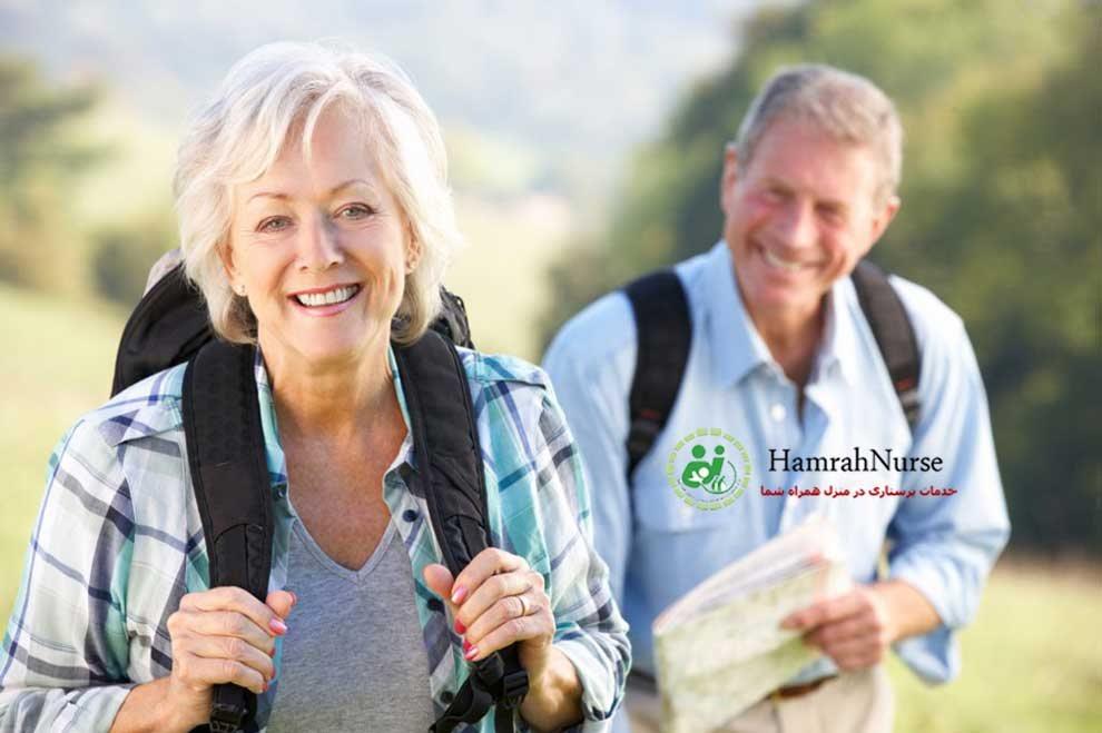 توصیه هایی برای مسافرت سالمندان