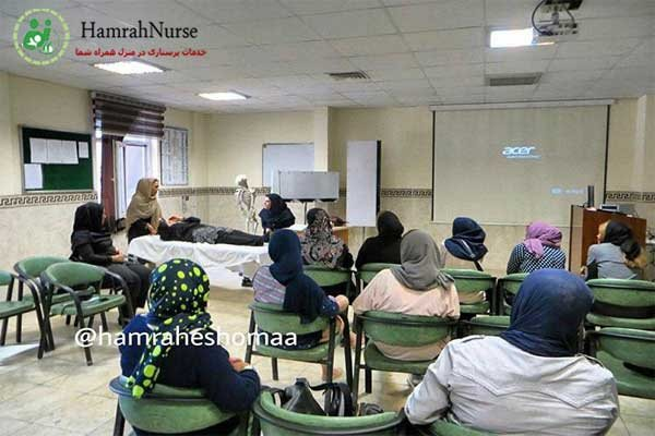 خدمات پرستاری در منزل و بیمارستان - خدمات پزشکی در منزل