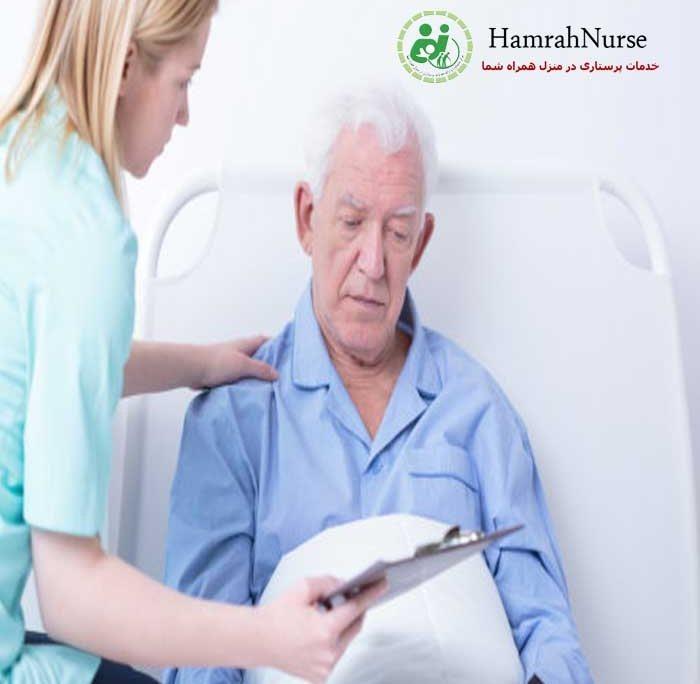 مراقبت از سالمند لجباز در منزل