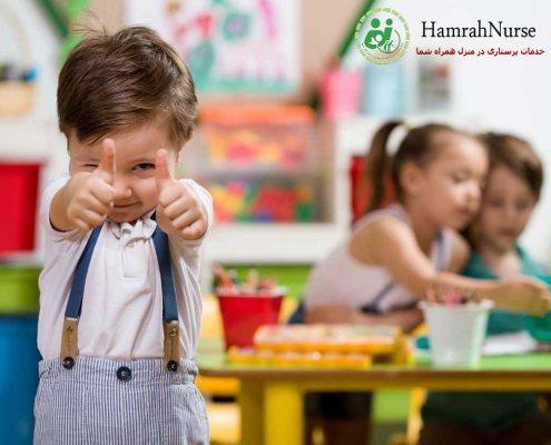 نکاتی در مورد پرستاری از کودک