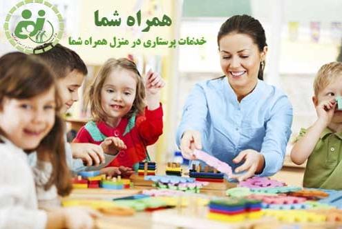 نقش پرستار کودک در رشد خلاقیت در کودک