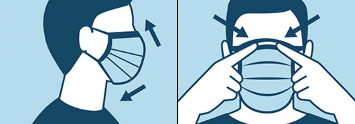 شیوه صحیح استفاده از ماسک در بیماران